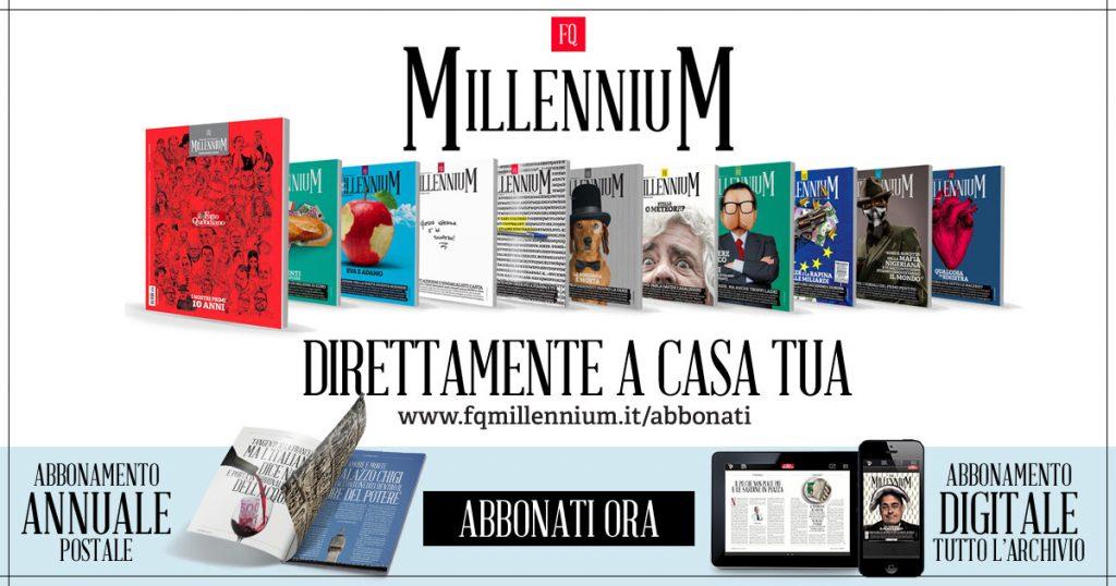 Abbonati ad FQ Millennium