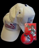 Cappello, magnete e spilla