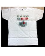 """Maglietta """"Italians are better"""""""
