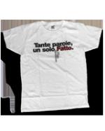 """Maglietta """"Tante parole, un solo Fatto"""""""